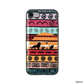 HAMEE ハミィ [iPhone SE 2020/8/7専用]ディズニーキャラクター Latootoo カード収納型 ミラー付きiPhoneケース 599-917305 ライオンキング