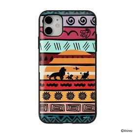 HAMEE ハミィ [iPhone 11/XR専用]ディズニーキャラクター Latootoo カード収納型 ミラー付きiPhoneケース Latootoo ライオンキング 599-917350
