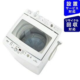 AQUA アクア 全自動洗濯機 GVシリーズ ホワイト AQW-GV70J-W [洗濯7.0kg /乾燥機能無 /上開き]