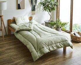 イケヒコ IKEHIKO 森の眠り 掛布団ダブルサイズ (グリーン)