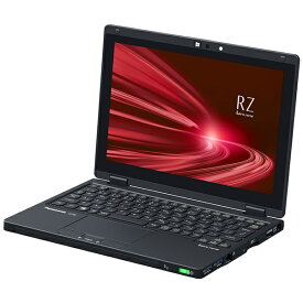 パナソニック Panasonic CF-RZ8HFMQR ノートパソコン レッツノート RZシリーズ(LTE) ブラック [10.1型 /intel Core i5 /SSD:256GB /メモリ:16GB /2020年6月モデル]