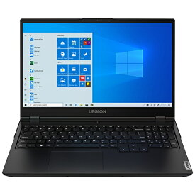 レノボジャパン Lenovo 82B5002TJP ゲーミングノートパソコン Legion 550 ファントムブラック [15.6型 /AMD Ryzen 5 /SSD:512GB /メモリ:16GB /2020年7月モデル]