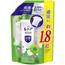 P&G ピーアンドジー レノア 本格消臭+ 抗菌ビーズ グリーンミスト 詰め替え 特大 760mL