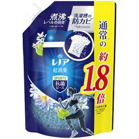 P&G ピーアンドジー Lenor(レノア) 本格消臭+ 抗菌ビーズ SPORTS クールリフレッシュの香り つめかえ用 特大サイズ