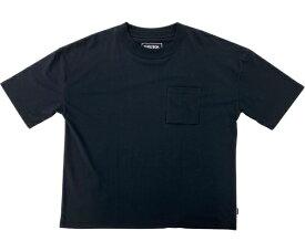 SHELTECH シェルテック メンズ ワイドポケットTシャツ(Lサイズ/ブラック) SL-002