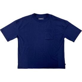 SHELTECH シェルテック メンズ ワイドポケットTシャツ(Sサイズ/ネイビー) SL-002