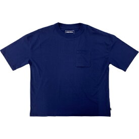 SHELTECH シェルテック メンズ ワイドポケットTシャツ(Lサイズ/ネイビー) SL-002