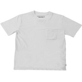 SHELTECH シェルテック メンズ ワイドポケットTシャツ(Mサイズ/ホワイト) SL-002