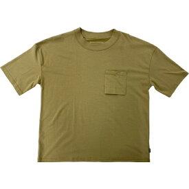 SHELTECH シェルテック メンズ ワイドポケットTシャツ(Mサイズ/ベージュ) SL-002