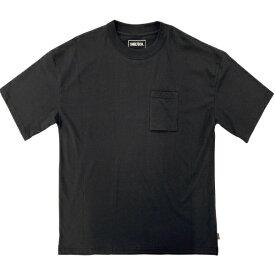 SHELTECH シェルテック メンズ レギュラー Tシャツ(XLサイズ/ブラック) SL-001