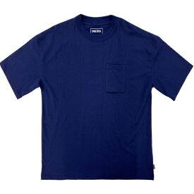 SHELTECH シェルテック メンズ レギュラー Tシャツ(Sサイズ/ネイビー) SL-001