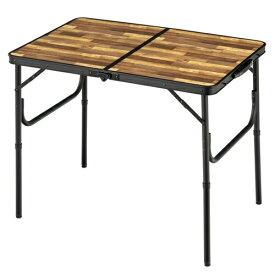BUNDOK バンドック アルミFDテーブル S(約905×600×705mm/木目) BD-243WB