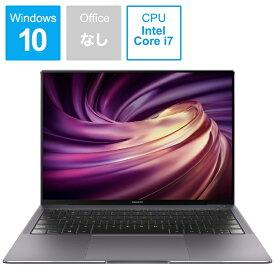 HUAWEI ファーウェイ MAHCAEH75DNCNBUA ノートパソコン MateBook X Pro スペースグレー [13.9型 /intel Core i7 /SSD:1TB /メモリ:16GB /2020年6月モデル][13.9インチ 新品 windows10]