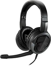 MSI エムエスアイ ゲーミングヘッドセット Immerse GH30 V2 [φ3.5mmミニプラグ /両耳 /ヘッドバンドタイプ]