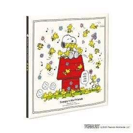 ナカバヤシ Nakabayashi プラコート フリー台紙アルバム  Lサイズ スヌーピークリーム