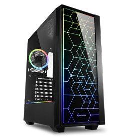 SHARKOON シャークーン PCケース SHA-RGB LIT100 ブラック