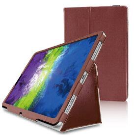 エレコム ELECOM 11インチ iPad Pro(第2世代)用 フラップカバー ソフトレザー/2アングル/軽量 ブラウン TB-A20PMPLFBR