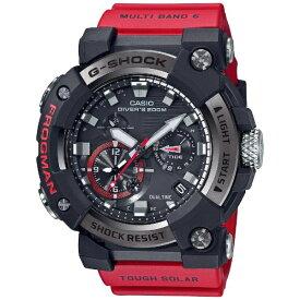 カシオ CASIO 【Bluetooth搭載ソーラー電波時計】G-SHOCK(Gショック)MASTER OF G(マスターオブG)FROGMAN アナログ表示モデル GWF-A1000-1A4JF