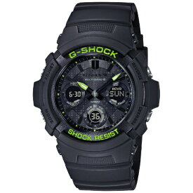 カシオ CASIO 【ソーラー電波時計】G-SHOCK(Gショック)Black and Yellow Series AWG-M100SDC-1AJF