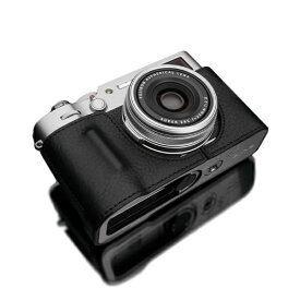 GRAIZ ゲリズ FUJIFILM X100V用 本革カメラケース ブラック HG-X100VBK