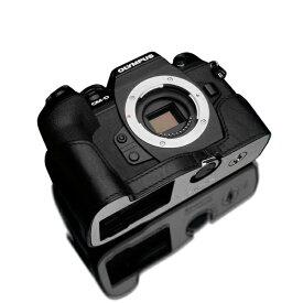 GARIZ ゲリズ OLYMPUS OM-D E-M1 Mark III 用 本革カメラケース ブラック XS-EM1IIIBK