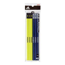 三菱鉛筆 MITSUBISHI PENCIL 鉛筆7050AI06黄紺2B6P