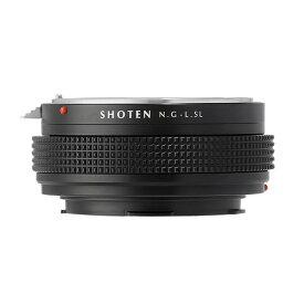 SHOTEN ショウテン NFG-LSL マウントアダプター (カメラ側:ライカSLL レンズ側:ニコンF(Gタイプ対応)) NFG-LSL