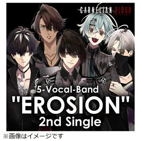 "【2020年09月23日発売】 インディーズ EROSION/ 5-Vocal-Band ""EROSION"" 2nd Single from CARNELIAN BLOOD【CD】"