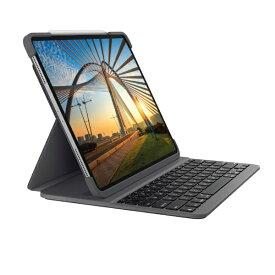 ロジクール Logicool 12.9インチ iPad Pro(第4/3世代)用 バックライト付 Bluetooth キーボード一体型ケース SLIM FOLIO PRO iK1274A