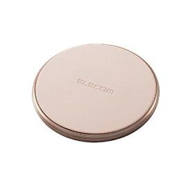 エレコム ELECOM Qi規格対応ワイヤレス充電器 10W 5W Type-C入力 卓上タイプ ゴールド W-QA14GD