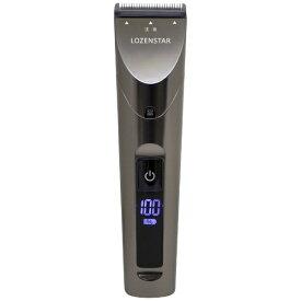 ロゼンスター LOZENSTAR PR-969 デジタル充電交流バリカン[液晶モニター搭載/充電交流式/100~240V] [交流充電式 /国内・海外対応]