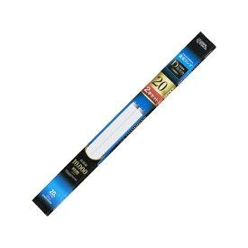 オーム電機 OHM ELECTRIC 直管蛍光ランプ グロースタータ形 20形 昼光色 2本セット FL20SSEX-D2P