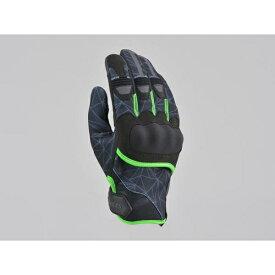 デイトナ DAYTONA 15923 HenlyBegins HBG-056 グラフィックプロテクト ブラック/グリーン L