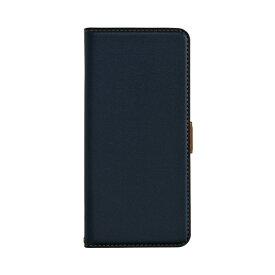 ラスタバナナ RastaBanana Galaxy S20+ 5G 薄型手帳ケース サイドマグネット ネイビー×ブラウン 5515GS20P5BO