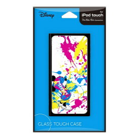 PGA iPod touch用(第7 6 5世代)用ガラスタフケース ミッキーマウス Premium Style ミッキーマウス PG-IT7DGT05MKY