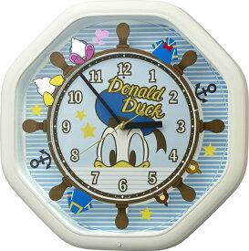 リズム時計 RHYTHM からくり時計 【カラクリトケイM441/ドナルドダック】 4MH441MC03