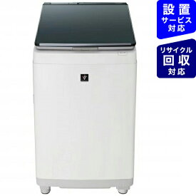 シャープ SHARP ES-PW11E-S 縦型洗濯乾燥機 シルバー系 [洗濯11.0kg /乾燥6.0kg /ヒーター乾燥(排気タイプ) /上開き][洗濯機 11kg]