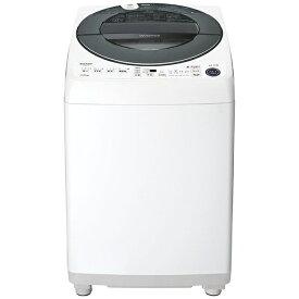 シャープ SHARP ES-GW11E-S 全自動洗濯機 シルバー系 [洗濯11.0kg /乾燥機能無 /上開き]