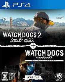 ユービーアイソフト Ubisoft ウォッチドッグス1+2 ダブルパック【PS4】