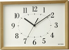 リズム時計 RHYTHM 電波掛け時計 「A Series A4 トケイ キワク」 8MY557SR06 【A Series・A4 トケイ キワク】 8MY557SR06