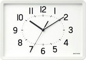 リズム時計 RHYTHM 掛け時計 「A Series A4 トケイ」 8MG815SR03 【A Series・A4 トケイ】 8MG815SR03
