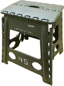 SLOWER 折りたたみ式 フォールディングスツール Lesmo FOLDING STOOL(390x400x330mm/オリーブ) SLW-126