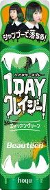 ホーユー hoyu ビューティーン 1DAYクレイジー!エイリアングリーン 35g ヘアカラースプレー ビューティーン 1DAYクレイジー!