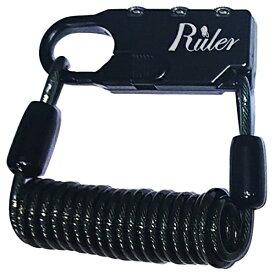 RULER ルーラー Ruler ミニロック(60mm×23mm×9.5mm/ブラック) MC-2013U