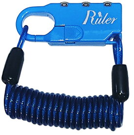RULER ルーラー Ruler ミニロック(60mm×23mm×9.5mm/ブル-) MC-2013U