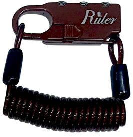 RULER ルーラー Ruler ミニロック(60mm×23mm×9.5mm/ブラウン) MC-2013U