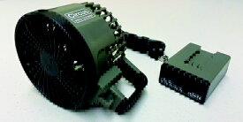 SLOWER ハンディ ミニファン Circus mini blower(97x71x154mm/オリーブ) SLW-200