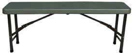 SLOWER アウトドア 折りたたみベンチチェアー FOLDING BENCH(1180x255x440mm/オリーブ) SLW-214