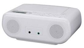 東芝 TOSHIBA CDラジオ TY-C160-W ホワイト [ワイドFM対応]