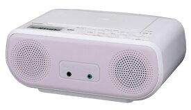 東芝 TOSHIBA CDラジオ TY-C160-P ピンク [ワイドFM対応]